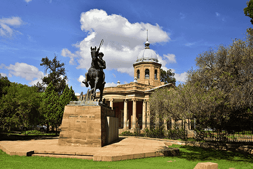 bloemfontein statue christiaan rudolph