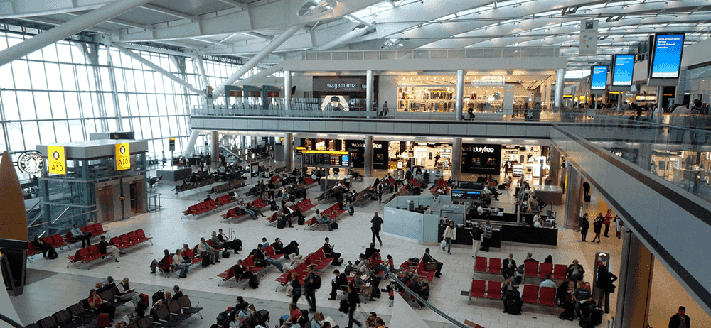 Gatwick Airport Interior